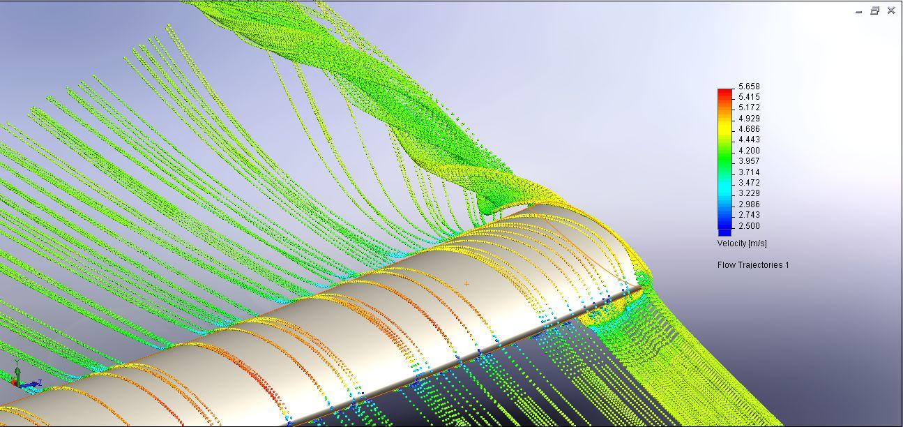 Hydrodynamic computer simulation